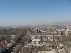 View of the western part of Dushanbe by <b>Parviz.Tj</b> ( a Panoramio image )