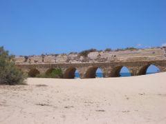 Caesarea aquaduct by <b>PHoffmann</b> ( a Panoramio image )
