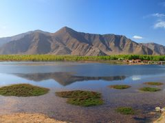 Lhasa River near Kunggar, Xizang (China) Photo by DannyXu by <b>JBME</b> ( a Panoramio image )