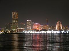 ?The night scenery at Minato-Mirai 21? by <b>?AXL?BACH?</b> ( a Panoramio image )