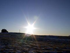 Alftanes Iceland jan 2007 @13:00 by <b>Ingolfur Bjargmundsson</b> ( a Panoramio image )