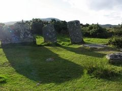 Stonecircle Derrintaggart West by <b>Markus Bohm</b> ( a Panoramio image )