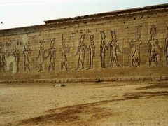 Egypt, Dendera, Temple of Hathor, July 1989  by <b>senna3</b> ( a Panoramio image )