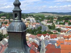 View from the Black Tower in Klatovy by <b>Alex Wakanno</b> ( a Panoramio image )