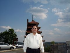 Mr.Nasir Uddin At  Pagoda {Historical Monument Of Japan} On  Mou by <b>MrNAASSIR</b> ( a Panoramio image )