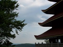View Of Pagoda {Historical Monument Of Japan} On  Mount Penn , R by <b>MrNAASSIR</b> ( a Panoramio image )