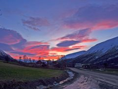 Sunset at Rise by <b>Sigmund Rise</b> ( a Panoramio image )