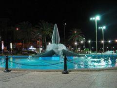 Нетания. Фонтан ночью by <b>obber</b> ( a Panoramio image )