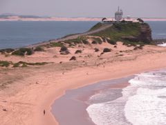 Nobby Beach in Newcastle by <b>gartn001</b> ( a Panoramio image )