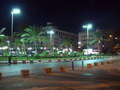 Нетания ночью. (Netanya) by <b>obber</b> ( a Panoramio image )