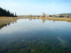 Ключ (река в посёлке) by <b>Assa1984</b> ( a Panoramio image )