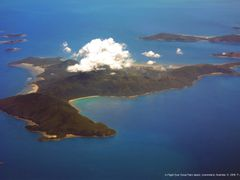 In Flight Over Great Palm Island, Queensland by <b>P.J. Hamlin</b> ( a Panoramio image )