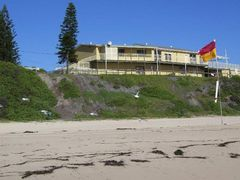 """a """"SEAGULL TAKE OFF"""" at Catherine Hill Bay surf club, Central Co by <b>Rob262</b> ( a Panoramio image )"""