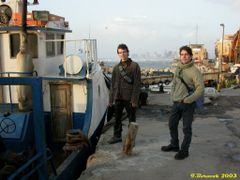 My sons in Yafo (26-MAR-03) #01 by <b>Ilya Borovok</b> ( a Panoramio image )