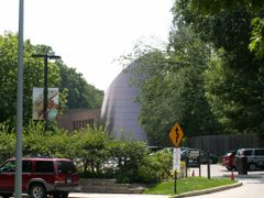 Cleveland Museum of Natural History  Planetarium by <b>ronmak</b> ( a Panoramio image )