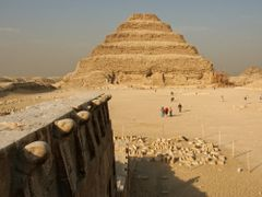Djoser Pyramid at Saqqarah, Djoser Stufenpyramide in Sakkara by <b>picsonthemove</b> ( a Panoramio image )