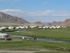 Hovd suburb by <b>terra-mongolia</b> ( a Panoramio image )