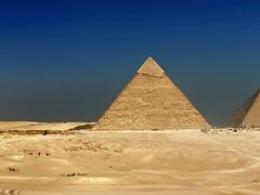 the Great Piramids Southern panorama, Egypt by <b>Ahmad Hegab</b> ( a Panoramio image )