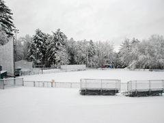 Baseball diamond in the snow, Merrimack, NH by <b>Kimberly Komers</b> ( a Panoramio image )