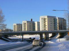 Highway bridge to Vaasa by <b>apuustin</b> ( a Panoramio image )