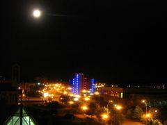 At night by <b>Alexandru Ioan</b> ( a Panoramio image )