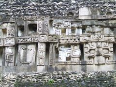Xunantunich -> El Castillo (relief) by <b>© Kojak</b> ( a Panoramio image )