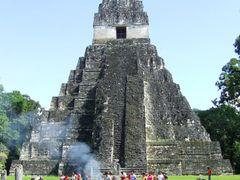 Temple I (Tikal) by <b>© Kojak</b> ( a Panoramio image )