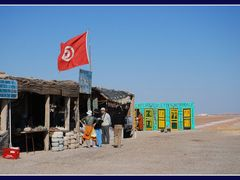 Chott El Jerid  (toilettes normale) by <b>F.Thoni</b> ( a Panoramio image )