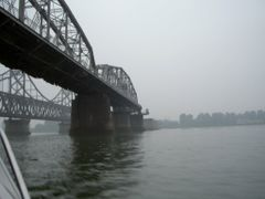 Bridges over Yalu River by <b>vqmalic</b> ( a Panoramio image )