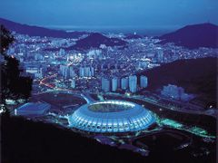 Busan worldcup Stadium by <b>Seokoon</b> ( a Panoramio image )