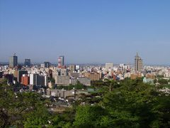 Sendai City Skyline by <b>masalla</b> ( a Panoramio image )