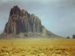 Shiprock, New Mexico by <b>Peter Connolly</b> ( a Panoramio image )