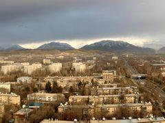 """Bird""""s-eye. Dushanbe, Tajikistan. by <b>Parviz.Tj</b> ( a Panoramio image )"""