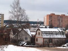«Paunocny Pasiolak» district in the winter. Sustrecny lane. by <b>Andrej Kuzniecyk</b> ( a Panoramio image )