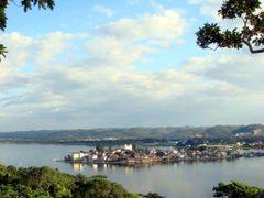 GUATEMALA Flores desde el Mirador del rey Canek by <b>Talavan</b> ( a Panoramio image )