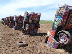 Cadillac Ranch by <b>l.a. bean</b> ( a Panoramio image )