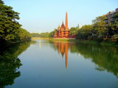 Dhanmondi Lake 1/2009 by <b>F.Zaman</b> ( a Panoramio image )