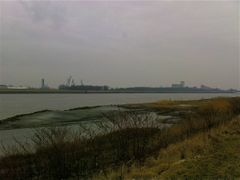 Port of Antwerp in winter by <b>Filip Kotrly</b> ( a Panoramio image )