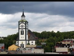 The church in R?ros by <b>kocurek</b> ( a Panoramio image )