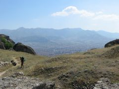 View on Prilep from Markov grad by <b>peter szalay</b> ( a Panoramio image )