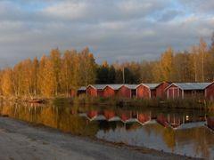 On the way to Kokkola`s marina in autumn by <b>Martonne Lang Boglarka</b> ( a Panoramio image )