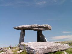 Poulnabrone Dolmen by <b>Ziebol</b> ( a Panoramio image )