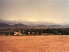 Jijiga from the Care Food Distribution Center looking toward the by <b>gdc01</b> ( a Panoramio image )
