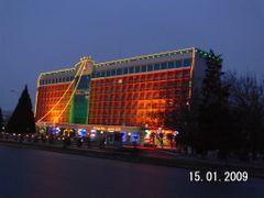 гос.Чимкент ( Chimkent hotel ) by <b>Ден_341</b> ( a Panoramio image )