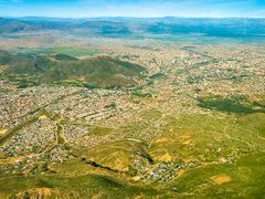 Cochabamba seen from airplane by <b>Lars Bj?rnholm</b> ( a Panoramio image )
