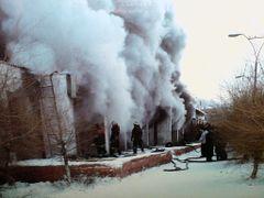 Пожар в Детском мире (Нарша) 2000г. by <b>IOpuk</b> ( a Panoramio image )