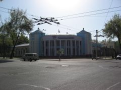 """Safina"" headquarters - local television. Dushanbe, Tajikistan. by <b>Parviz.Tj</b> ( a Panoramio image )"