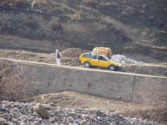 A man and a camel near Sayad Bridge  by <b>vetman</b> ( a Panoramio image )