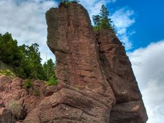 Hopewell Rocks - Tower Rock by <b>keithwatson66</b> ( a Panoramio image )