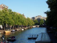 (BRU) Vista del canal de Keizersgracht - Amsterdam by <b>brujita9</b> ( a Panoramio image )